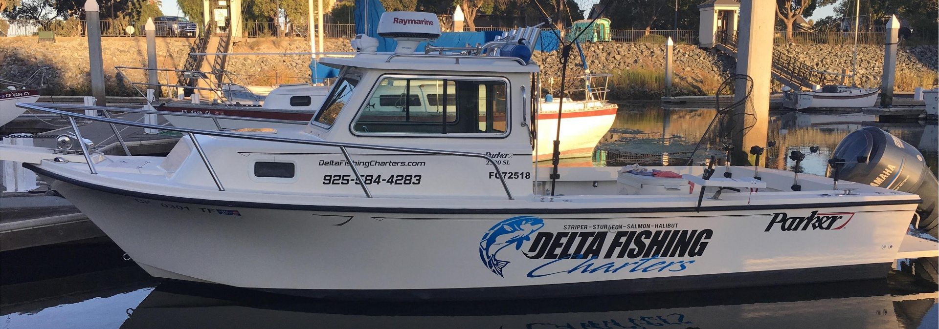 Delta Fishing Charters Boats - Best Fishing Guides California