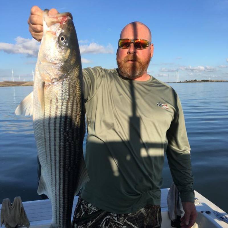 Delta Striped Bass Fishing